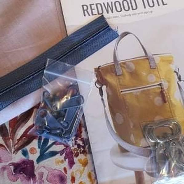 Sy med Bente Veske, Redwood Tote