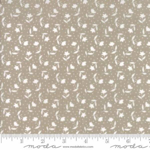 Farmers Daughter Taupe Moda Stoff