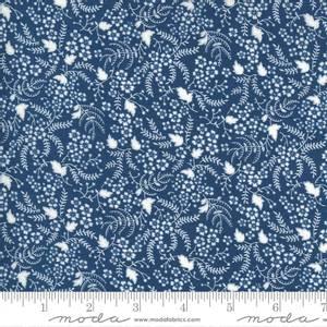 Bilde av Moda fabrics Flowers For Freya Bluebird