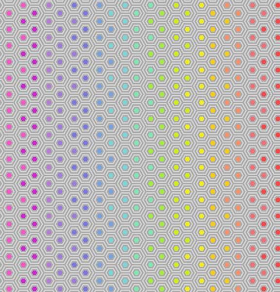 Tula Pink - True Colors lys grå