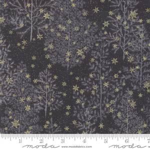 Bilde av Moda Fabrics Forest Frost Glitter Coal