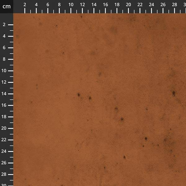 Bomull stoff Tim Holtz, Provisions brun oransje