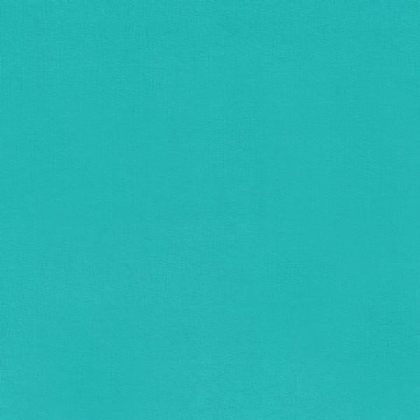 Bomullsjersey Ensfarget turkis grønn farge 23